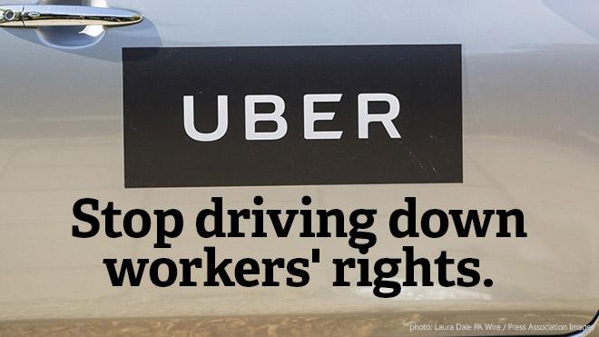 uber exploitation
