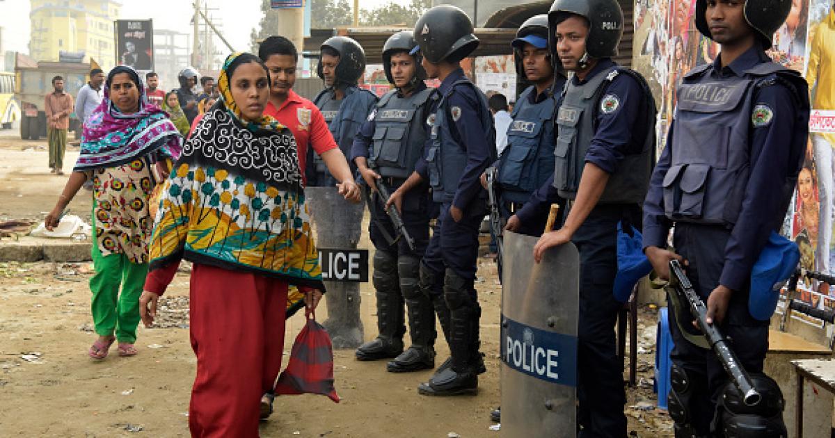 bangladeshi-police