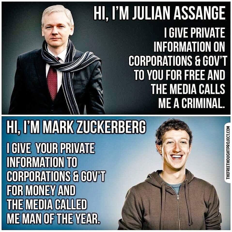assange zuckerberg
