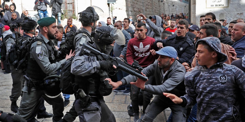 Israel security vs palestinians