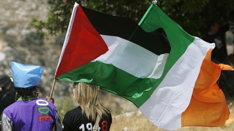 irish palestine