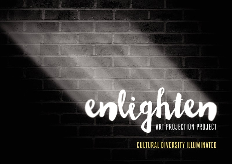 Enlighten on straight after the Living Together Project for the 2016 Bendigo Festival of Cultures