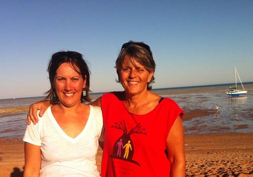 Karen Corr travelling Australia