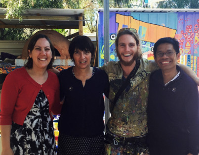 Meeting changemakers at the Purple House, Alice Springs
