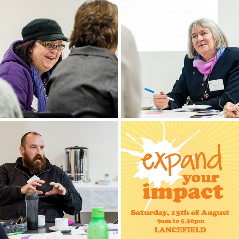 """Expand Your Impact provided participants with resources to build their vision, mobilize their 'A"""" team, the know how to 'talk-up' their project and be resource reach. -"""