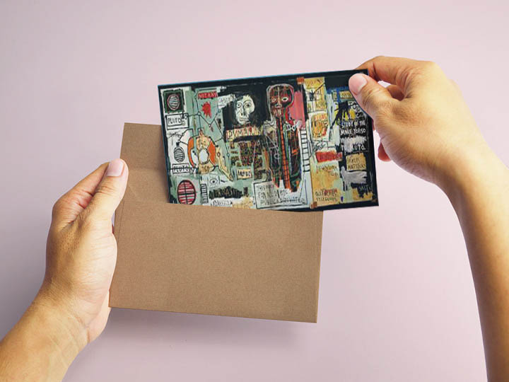 Art Postcards by Young and Emerging artists.