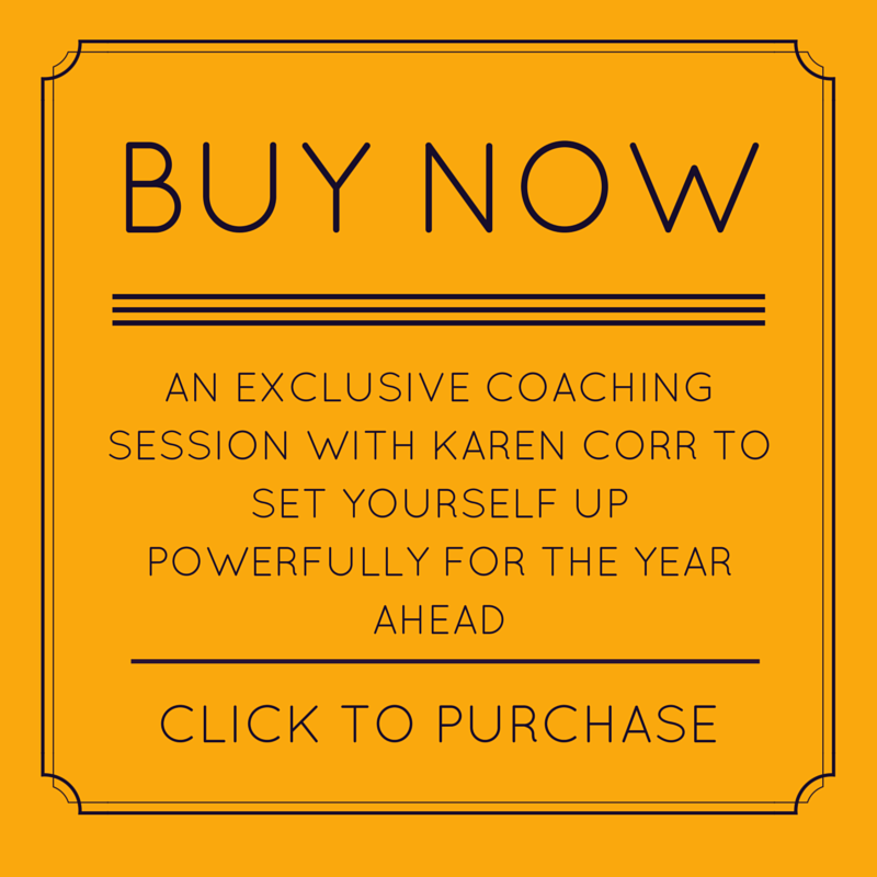 Execlusive coaching session with Karen Corr