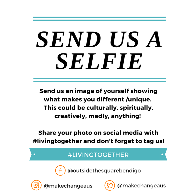Send Us a Selfie showing what makes you different and unique