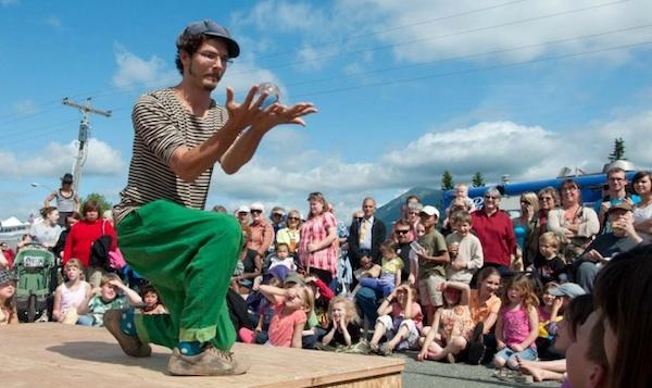New Old Time Chautauqua Fairbanks show