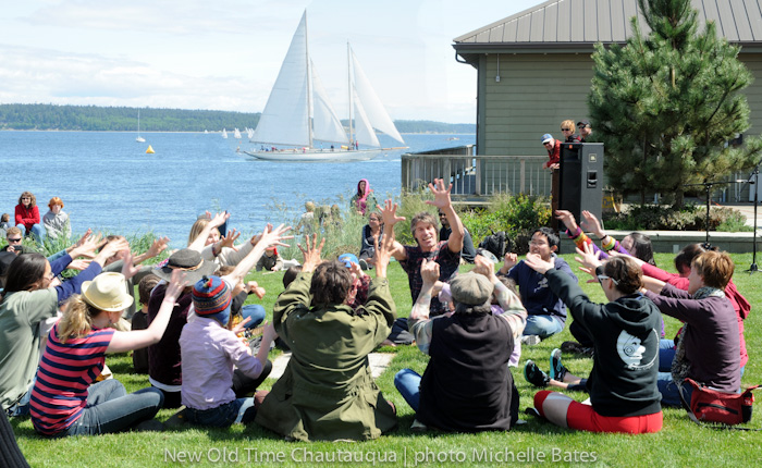 Christian Swenson of New Old Time Chautauqua in Port Townsend