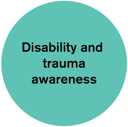 Disability and trauma awareness