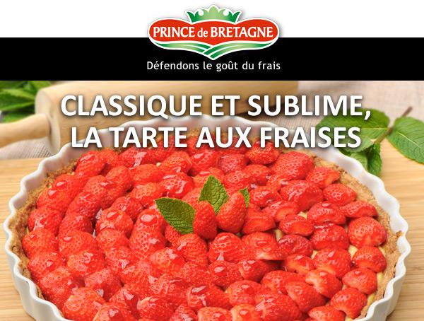 Classique et sublime, la tarte aux fraises