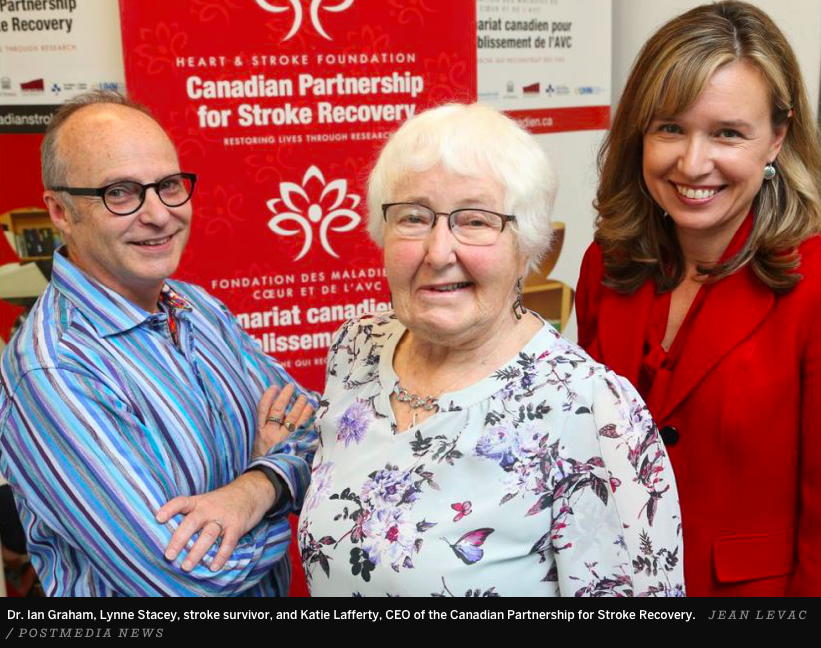 CPSR's Stroke Recovery in Motion project was featured in national media in October 2018.