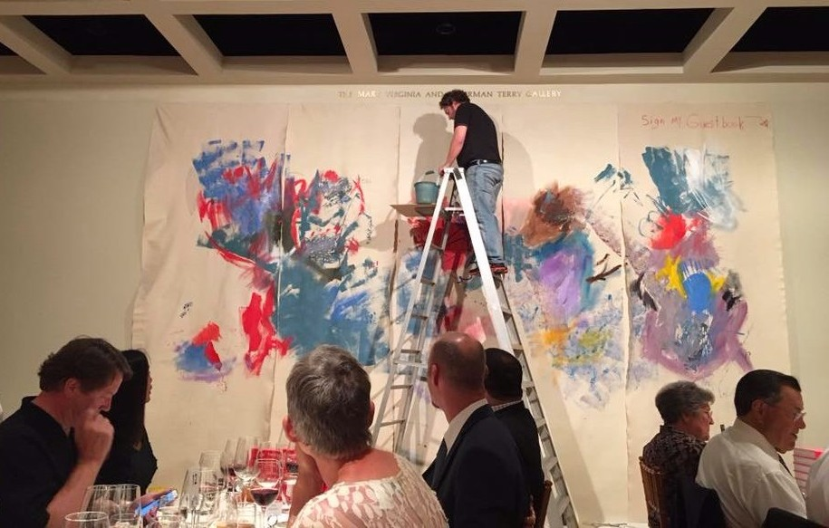 Live Painting in Cummer Museum