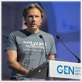 GEN Summit 2018 Presentation © Rainer Mirau for Global Editors Network