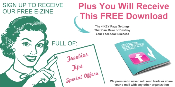 Sign-up for our free e-zine and receive this valuable free download