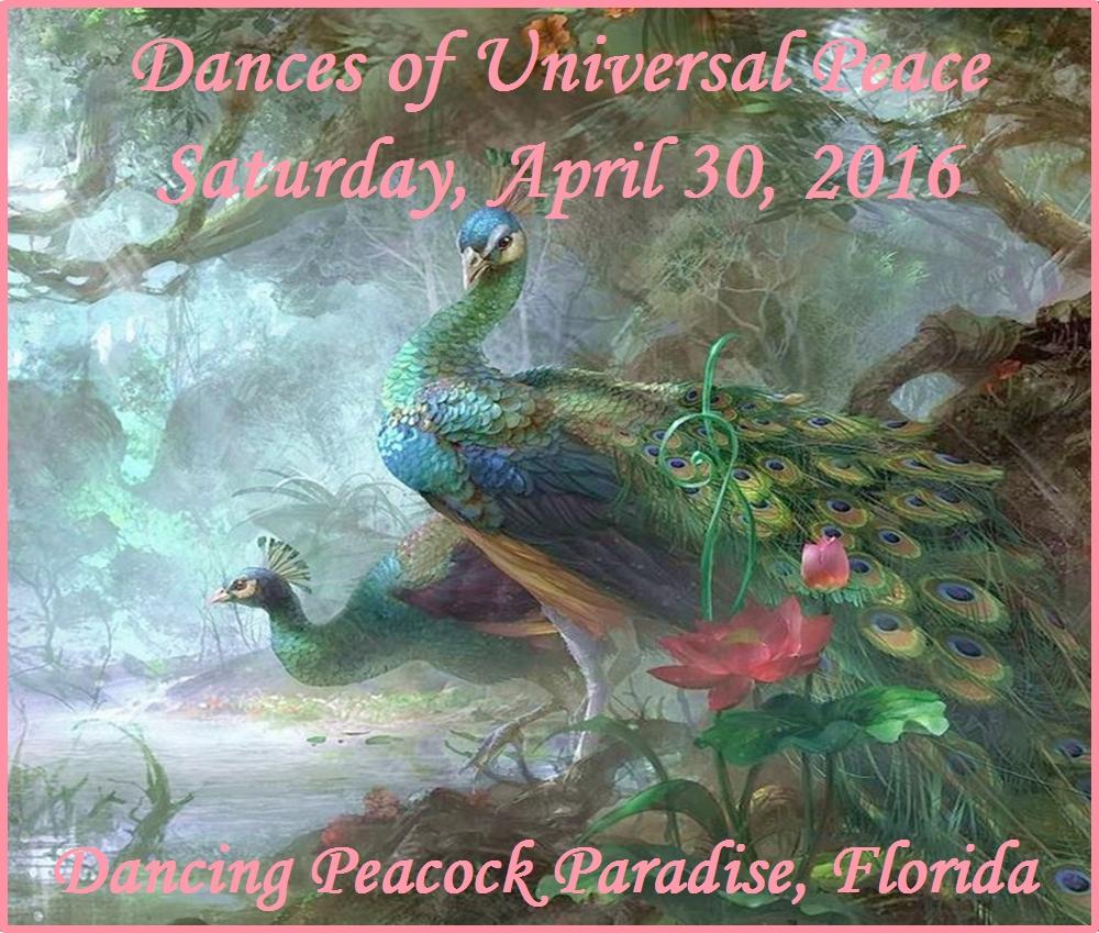 Dances of Universal Peace - Saturday, 4/30/16