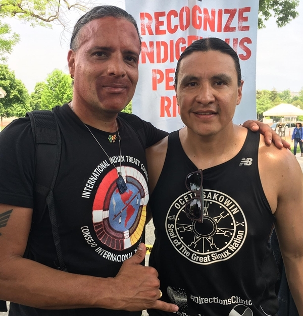 Damon Corrie & Chase Iron Eyes