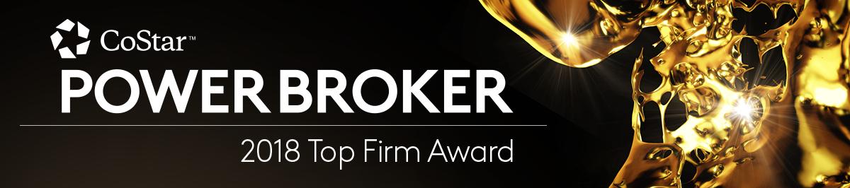CoStar Power Broker Top Firm Award