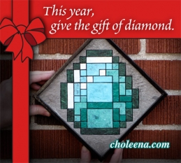 "Give the gift of ""diamond"" artwork"