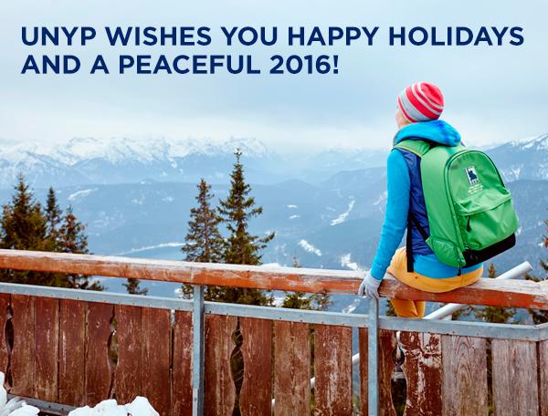 UNYP wishes Happy Holidays