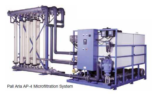 Pall Aria AP-Series Water Filtration System | Precision Filtration Products