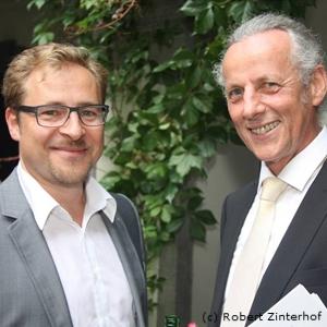 Andreas Lamm (Donauwell) und Walter Edtbauer (donauFESTWOCHEN) (c) Robert Zinterhof