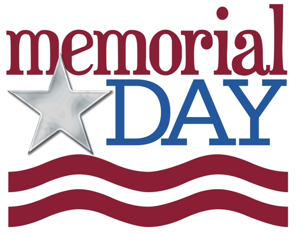 Red White and Blue Memorial Day Clip Art