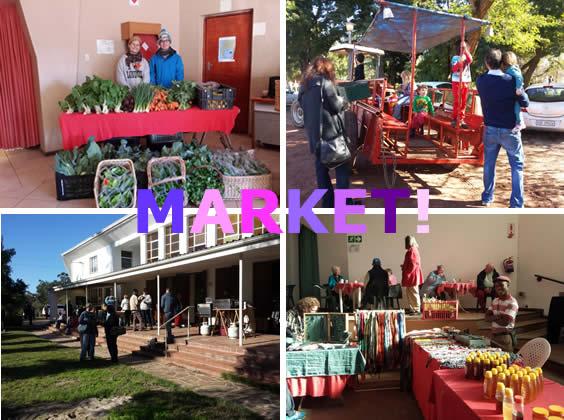 June 2015 Market at Camphill Village