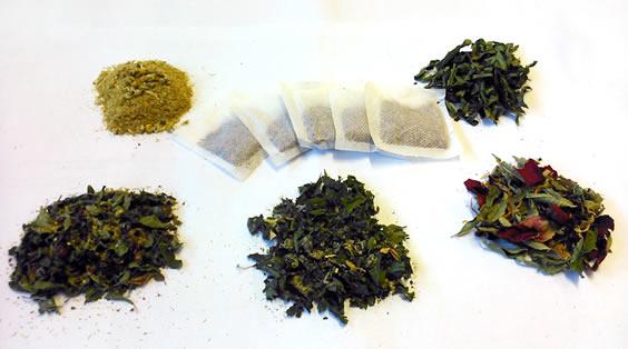 Camphill's herbal tea range