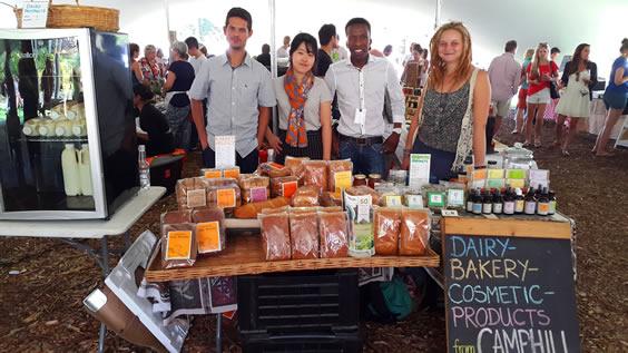 Camphill stall at the Oranjezicht City Farm Market
