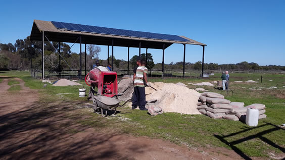 Rays of Hope solar project at Camphill Village West Coast phase 2