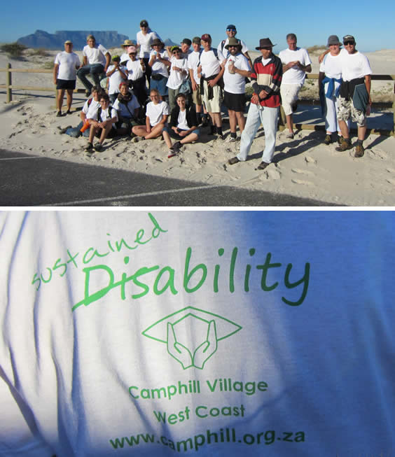 Camphill beach walk with Blouberg Dutch Reformed Church -Group Shot