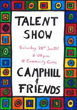 Camphill Talent Show 2015