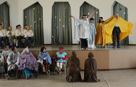 St Francis play at Campill Village