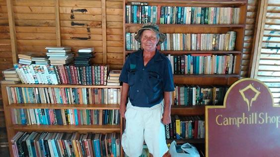 Camphill second-hand bookshop