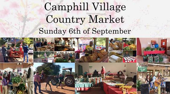 September 2015 Market at Camphill Village