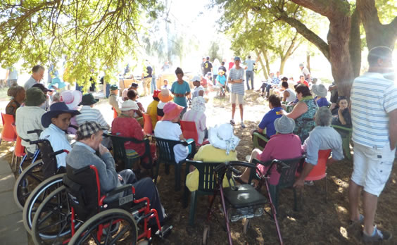 Global day of prayer gathering at Camphill Village