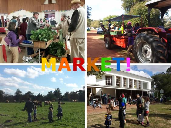 July 2015 Market at Camphill Village