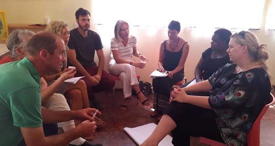 Strategic workshop at Camphill