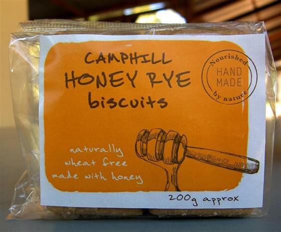 Camphill Village West Coast's Honey Rye biscuits