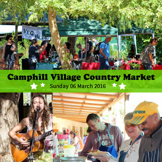 Camphill Village Country Market - March 2016