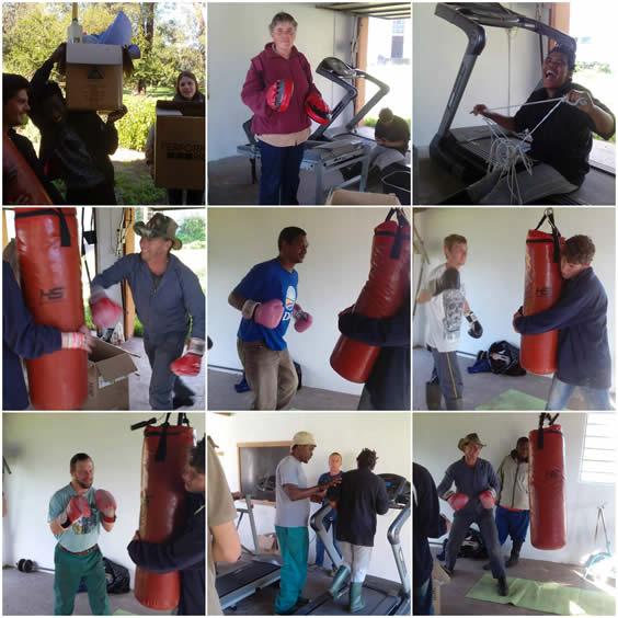 Camphill gym