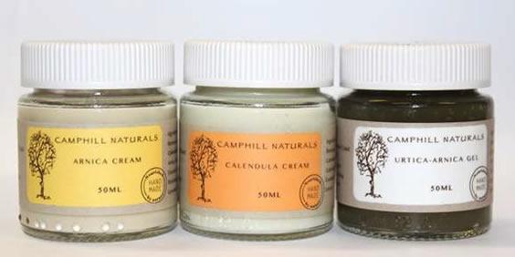 Camphill cosmetic creams