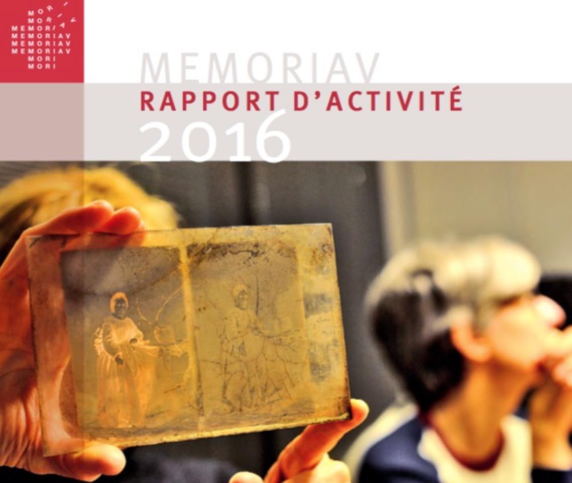 Couverture du rapport d'activité