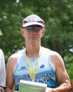 gary drum at luray triathlon