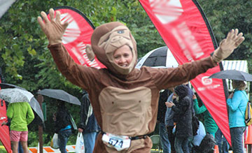 luray triathlon running monkey