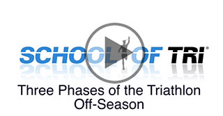 three phases of triathlon off-season