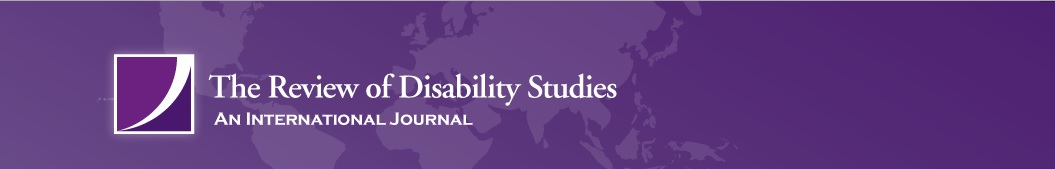 The Review of Disability Studies: An International Journal