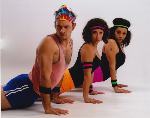 80s yoga party Tuesday, October 24 at 7 PM.